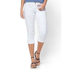 New York And Company Cropped Jean Legging 0